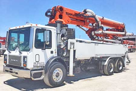 1996 Morgan 31-Meter Concrete Pump