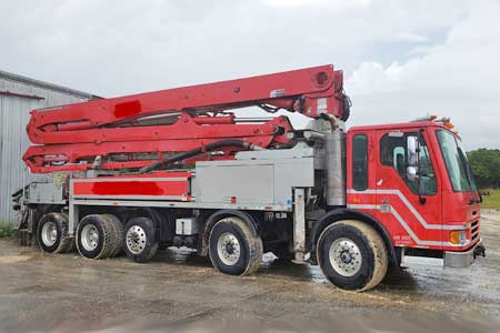 New 45-Meter Concrete Boom Pump