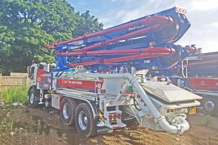 2004 Putzmeister 38-Meter Detachable Boom Pump