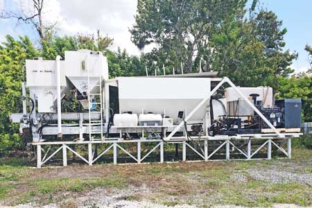 2004 CemenTech Stationary Volumetric Mixer