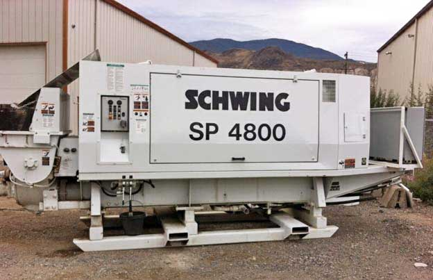 Schwing 500-18 Concrete Trailer Pump