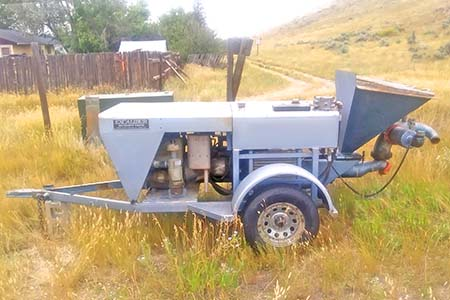Transcrete P-60 Concrete Trailer Pump