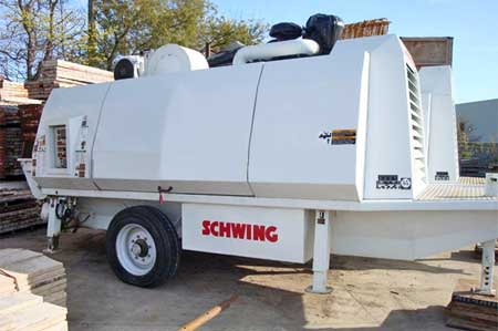 2007 Schwing BPA-8800 Line Pump For Sale