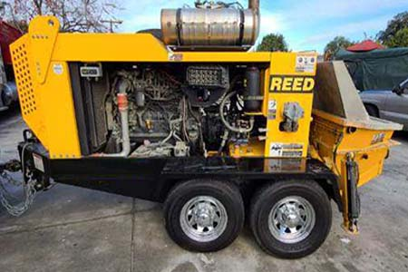 2013 Reed B50HPS Concrete Trailer Pump