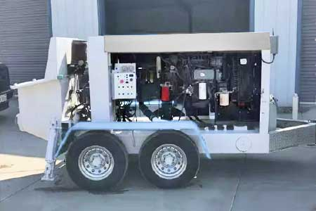 2007 Olin 1575 Concrete Trailer Pump