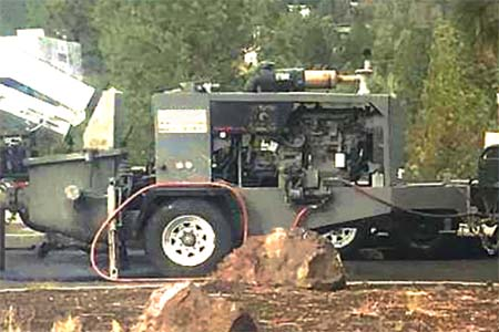 2005 Reed A30 Concrete Trailer Pump